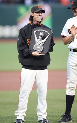 Lincecum won back to back Cy Young Awards. San Francisco did not make the playoffs either year.