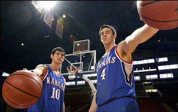 Future NBA Players Kirk Hinrich and Nick Collison
