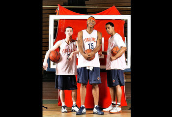 G-Mac, 'Melo, and Billy Edelin