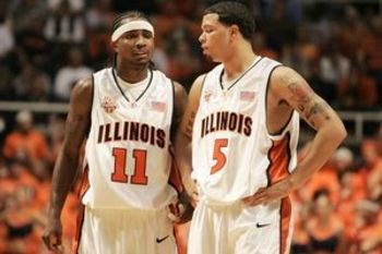 Future NBA Players Dee Brown and Deron Williams