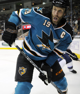 Joe Thornton needed four games to get his first point
