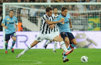 Claudio Marchisio (left)