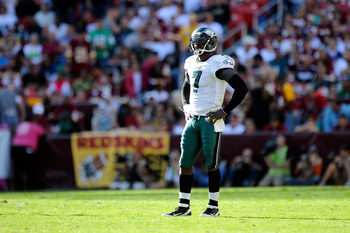 The preseason favorite to win the division, Michael Vick and the Eagles are currently in last place in the divison.