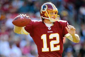 John Beck is the new Redskins quarterback.