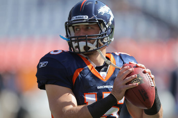It's Tebow time in Denver.