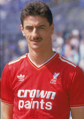 Ian Rush in Liverpool Colours in 1987