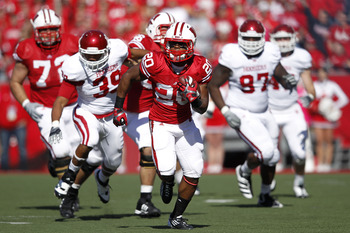 Wisconsin's Montee Ball had another big day as the Badgers blew out Indiana for the second consecutive season.