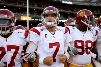 A strong team effort led the way to victory for USC over California.
