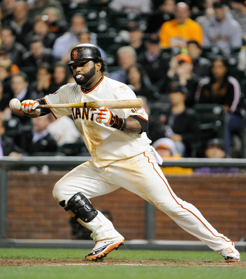 Pablo Sandoval is a real threat at the plate.