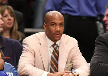 Stephon Marbury was the highest paid water boy in the league.