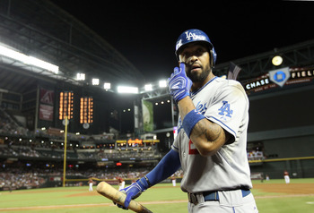 The messy divorce involving the Dodgers owner may cause MVP candidate Kemp to become available.