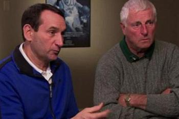 The 'K's: Krzyzewski and Knight.