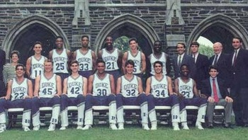 The 1989-90 edition of the Duke Blue Devils