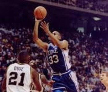 Senior Grant Hill led the 1993-94 Blue Devils.
