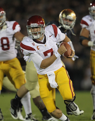 Matt Barkley led his team to their 31-17 win.