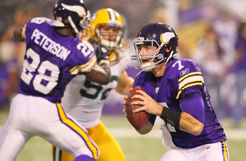 Quarterback Christian Ponder did many things well Sunday, like avoid the pass rush, but still made rookie mistakes.