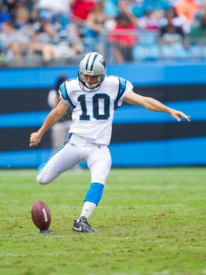 Olindo Mare kicked four field goals in the Panthers' 33-20 victory over the Redskins.