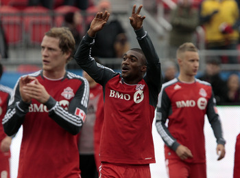 Toronto FC players salute their fans for what has been another difficult season in MLS, but they do have the CONCACAF Champions League to look forward to.