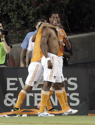 Carlo Costly slammed the door shut on the Los Angeles Galaxy in the Houston Dynamo's 3-1 victory on Sunday.