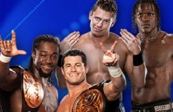 Wwe-tag-team-champions-kofi-kingston-and-evan-bourne-vs-the-miz-and-r-truth