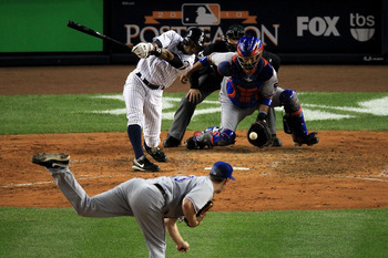 Lee made the Yankees look silly in Game 3 of the 2010 ALCS.