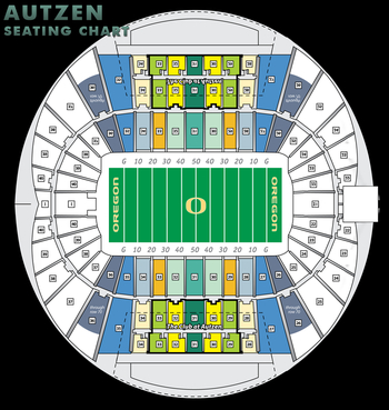 What the seating chart would look like at the new Autzen Stadium.