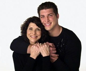 Tim Tebow and mother, Pam Tebow