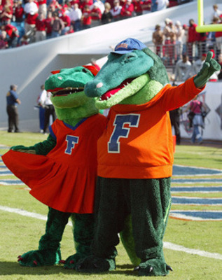 Florida Gators Mascot History http://bleacherreport.com/articles/911109-florida-gators-2011-top-10-traditions-for-the-gators