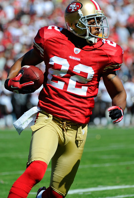 Carlos Rogers leads the 49ers with three interceptions