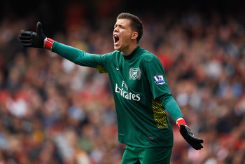 Wojciech Szczesny has established himself as a terrific shot stopper.