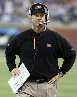 Jim Harbaugh has led the 49ers to a 5-1 record.