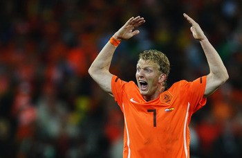 Kuyt still features regularly for the Netherlands