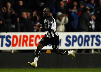 Cheik Tiote hammers in the final nail in Arsenal's coffin, and then deservedly goes mental