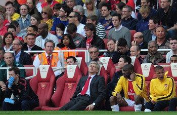 Eboue did what Eboue does, and Arsene gets that sinking feeling