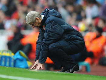 Spurs had Wenger on his hands and knees