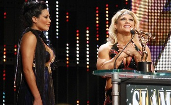 Beth Phoeinx wins the 2008 Diva of the Year Slammy Award