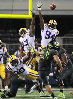 LSU vs Oregon 2011