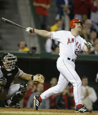 Scott Spezio's seventh inning three run home run sparked a game six comeback for the Angels.