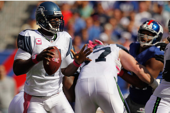 Seattle's fortunes could rest on Tarvaris Jackson's ability to play on Sunday.