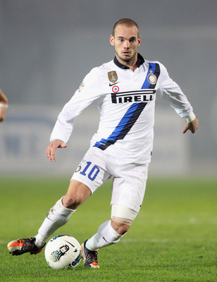 Wesley Sneijder was linked to the Premier League all summer.