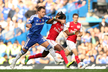 John Terry did not have a good day defensively