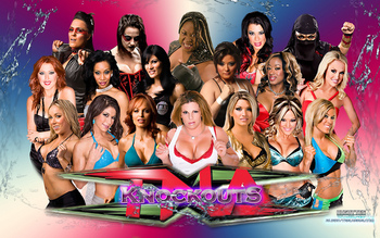 Yeah, so, basically, thank you for giving us TNA Knockouts, Mildred! They're awesome.