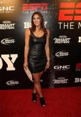 ... keeper Hope Solo raised eyebrows in a different way when she posed nude ...