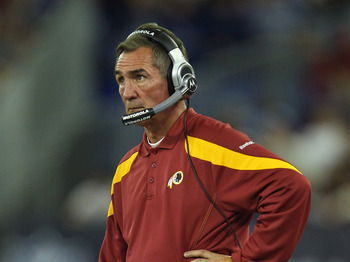 Will Mike Shanahan become the latest coach to leave Washington after less than five years?