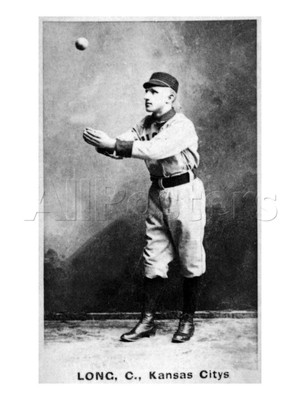 Herman Long was one of the best fielders in the 19th Century.