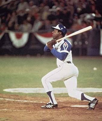 Hank Aaron's defense wasn't far behind his hitting ability.