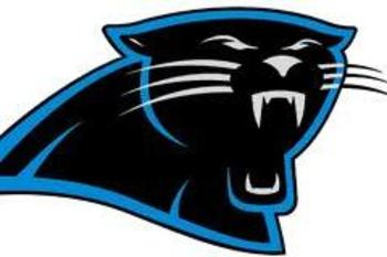 Carolina Panthers team logo.