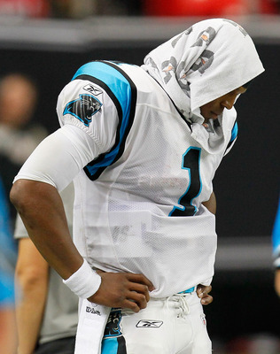 Panthers QB, Cam Newton (1).