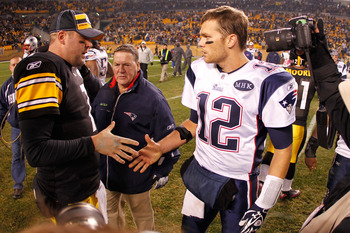 Tom Brady fell to Big Ben's Steelers last week.