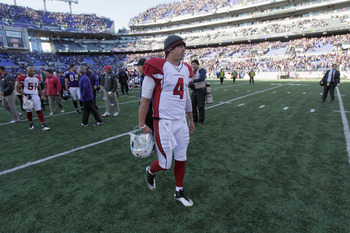 Kevin Kolb and the Arizona Cardinals lost last week in Baltimore.